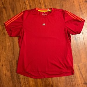 Adidas Climalite, enviro friendly shirt